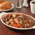 carne · guisada · vinho · comida · jantar · carne · refeição - foto stock © msphotographic