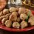 voorgerechten · bal · lunch · rundvlees · buffet · snack - stockfoto © msphotographic