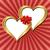 artistiek · gouden · harten · valentijnsdag · abstract · hart - stockfoto © mtmmarek