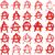 アナーキー · シルエット · にログイン · 抽象的な · グループ · シルエット - ストックフォト © mtmmarek
