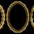 dekoratív · arany · keret · klasszikus · minták · fekete - stock fotó © mtmmarek