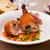 frango · couve-flor · cenoura · brócolis · comida · restaurante - foto stock © mtoome