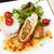 gekruid · kip · biefstuk · saus · gegrild · tomaat - stockfoto © mtoome