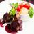 grelhado · cordeiro · alecrim · isolado · branco · comida - foto stock © mtoome