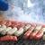 salsicha · fresco · quente · cães · grelhar · ao · ar · livre - foto stock © muang_satun