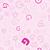 végtelen · minta · karakter · rózsaszín · vektor · iskola · terv - stock fotó © muuraa