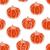 halloween · végtelen · minta · tökök · fehér · narancs · vektor - stock fotó © muuraa