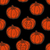 végtelen · minta · narancs · tökök · fekete · absztrakt · művészet - stock fotó © muuraa