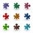 color puzzle pieces stock photo © muuraa
