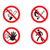 признаков · нет · огня · курение - Сток-фото © my-photomir