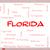 Florida · kelime · bulutu · 30 · şehirler · Miami - stok fotoğraf © mybaitshop