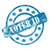 blue weathered voter id stamp circles and stars stock photo © mybaitshop
