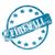 blue weathered firewall stamp circle and stars stock photo © mybaitshop