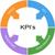 pijl · sleutel · kleurrijk · cirkels - stockfoto © mybaitshop