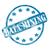 blue weathered data mining stamp circle and stars stock photo © mybaitshop