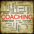 grunge coaching word cloud stock photo © mybaitshop