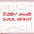 ciało · umysł · dusza · duch · chmura · słowo - zdjęcia stock © mybaitshop