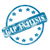 blue weathered gap analysis stamp circle and stars stock photo © mybaitshop