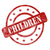 red weathered children stamp circles and stars stock photo © mybaitshop
