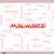 malware word cloud concept on a whiteboard stock photo © mybaitshop