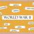 world war ii corkboard word concept stock photo © mybaitshop