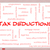 tax deductions word cloud concept on a whiteboard stock photo © mybaitshop