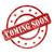 Rood · verweerde · binnenkort · stempel · cirkels · sterren - stockfoto © mybaitshop