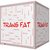 trans fat word cloud concept on a 3d cube whiteboard stock photo © mybaitshop