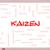 kaizen word cloud concept on a whiteboard stock photo © mybaitshop