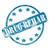 blue weathered drug rehab stamp circle and stars stock photo © mybaitshop
