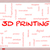 3d printing word cloud concept on a whiteboard stock photo © mybaitshop