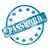 blue weathered password stamp circle and stars stock photo © mybaitshop