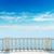 ver · mar · varanda · nublado · céu · fundo - foto stock © mycola
