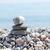 stack of zen stones on beach stock photo © mycola