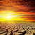 dramático · pôr · do · sol · seca · terra · natureza · luz - foto stock © mycola