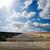 railroad under dramatic sky stock photo © mycola
