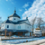 old orthodox church in winter ukraine stock photo © mycola