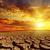 seca · terra · nublado · céu · paisagem · fundo - foto stock © mycola