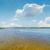 primavera · paisagem · nuvens · lagoa · blue · sky · branco - foto stock © mycola
