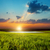 bom · pôr · do · sol · dramático · céu · dourado · cor - foto stock © mycola