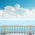 varanda · mar · luz · nuvens · blue · sky · praia - foto stock © mycola