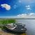 eski · nehir · doğa · tatil · görmek - stok fotoğraf © mycola