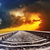 railroad to dramatic sunset stock photo © mycola