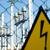 高電圧 · 危険標識 · 危険 · 黄色 · にログイン · 木製 - ストックフォト © mycola