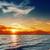良い · 赤 · 日没 · 海 · 風景 · 背景 - ストックフォト © mycola