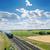 oude · locomotief · spoorweg · landelijk · veld · dramatisch - stockfoto © mycola