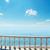 ver · varanda · mar · nuvens · água · casa - foto stock © mycola