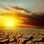 赤 · 日没 · 干ばつ · 地球 · 太陽 · 風景 - ストックフォト © mycola