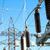 transformatör · yüksek · ışık · mavi - stok fotoğraf © mycola