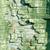 cracked old green paint texture closeup stock photo © mycola